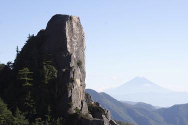小ヤスリと富士山