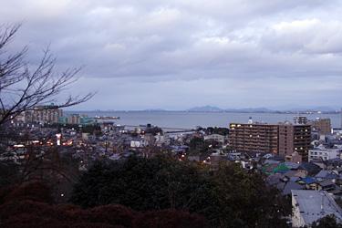 展望台からの琵琶湖