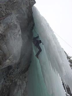 X-Mass Chopping(M8-) の岩から氷に移ったところ