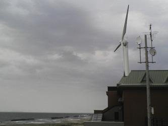 道の駅の風車