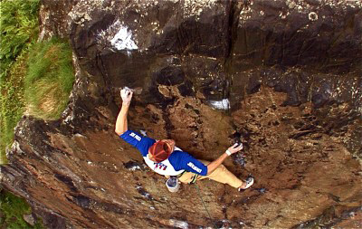 Trotter Fires Second Ascent of Rhapsody