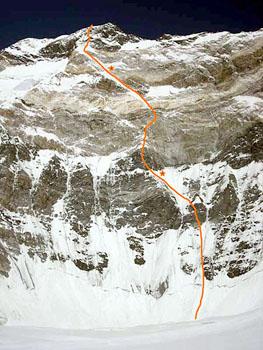 Eight Women-climbers Peak