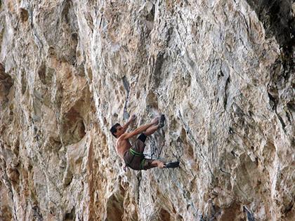 Joe Kinder Climbs Kryptonite