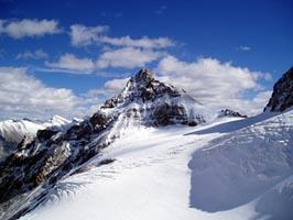 カナダの山