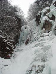 上部の大滝