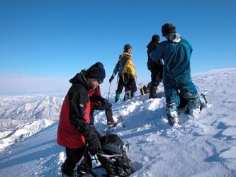 タカマタギ山頂