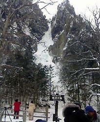 層雲峡・銀河の滝