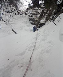 錦糸の滝 3P 目