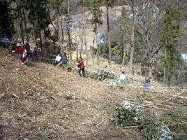 清掃集会 2004 @広沢寺