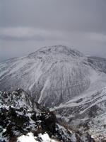 朝日岳山頂より茶臼岳