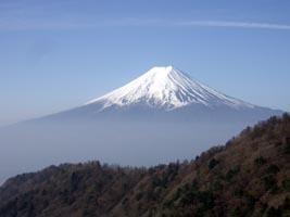 今日も富士山が綺麗