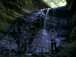 6m の滝