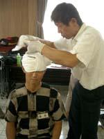 頭部出血の応急処置