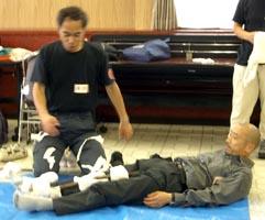足部骨折の固定