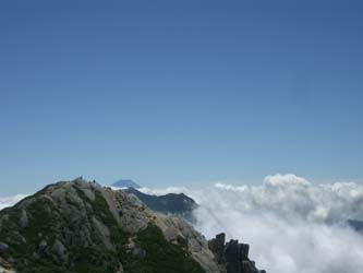 摩利支天と富士山
