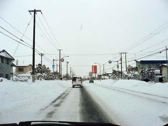 北海道は雪国