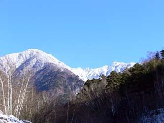 出発地点からの宝剣岳
