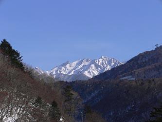 新穂高温泉から槍ヶ岳