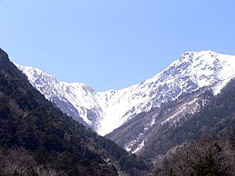 広河原から北岳