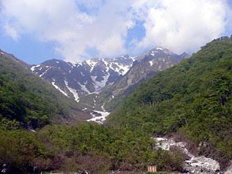 マチガ沢出合から谷川岳山頂