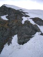 最後の雪壁