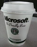 Microsoft とスタバもシアトル