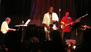 Jazz Bar にて