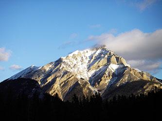 Banff の裏山