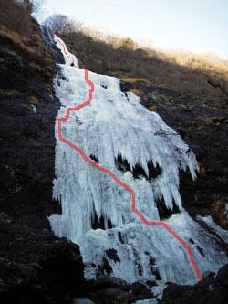 取付からの千波の滝